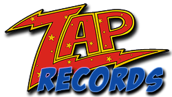 logo zap records 250 blue