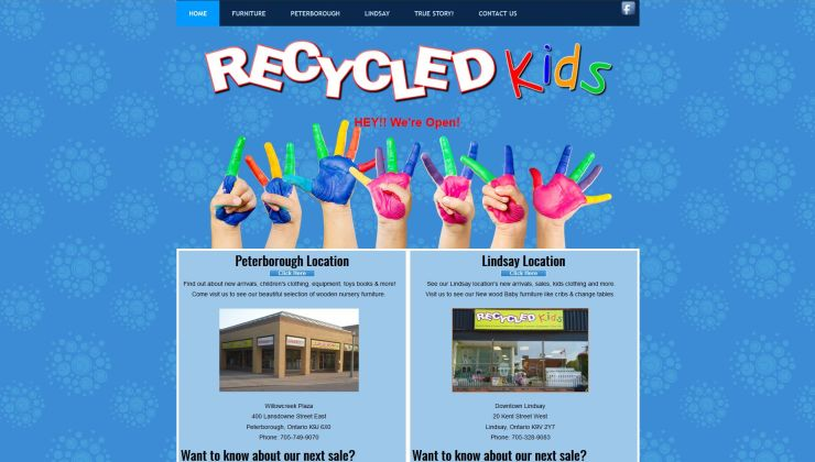 site recycledkids.ca